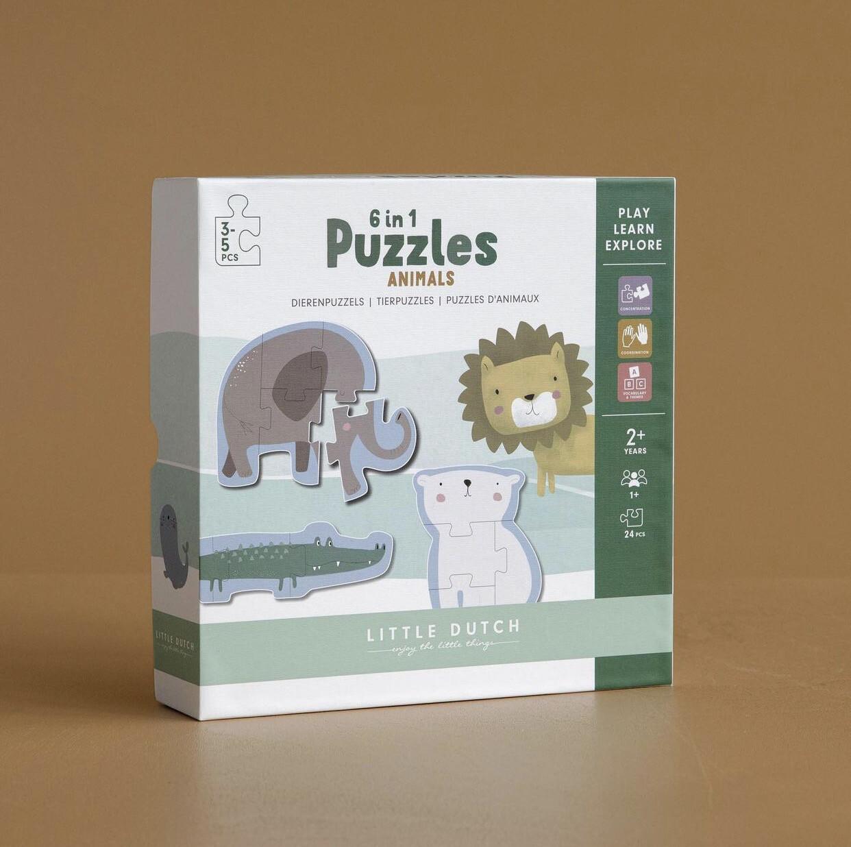 Puzzle Zootiere Little Dutch