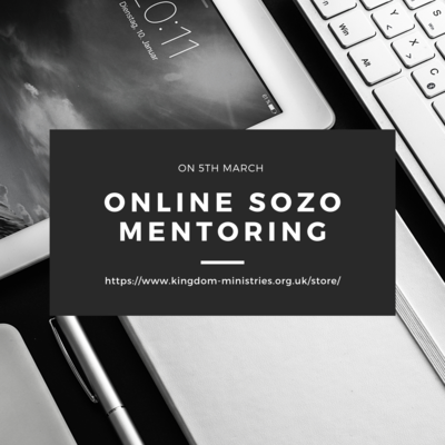Online Sozo mentoring Day on 5th March