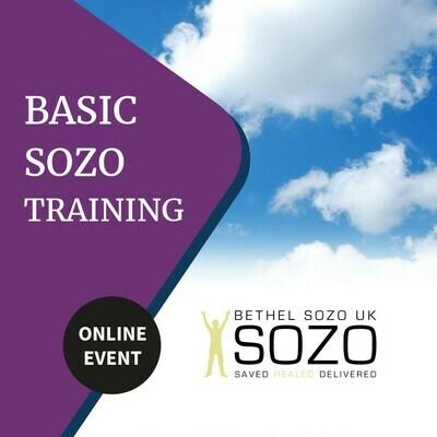 Online Basic Sozo Training 16/17th April