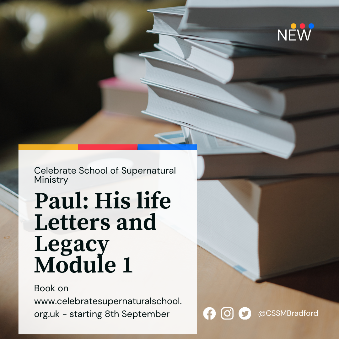 Paul – His life, letters and legacy. Module 1 – the shorts.