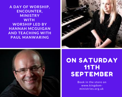 A day of worship, teaching and ministry with Paul Manwaring