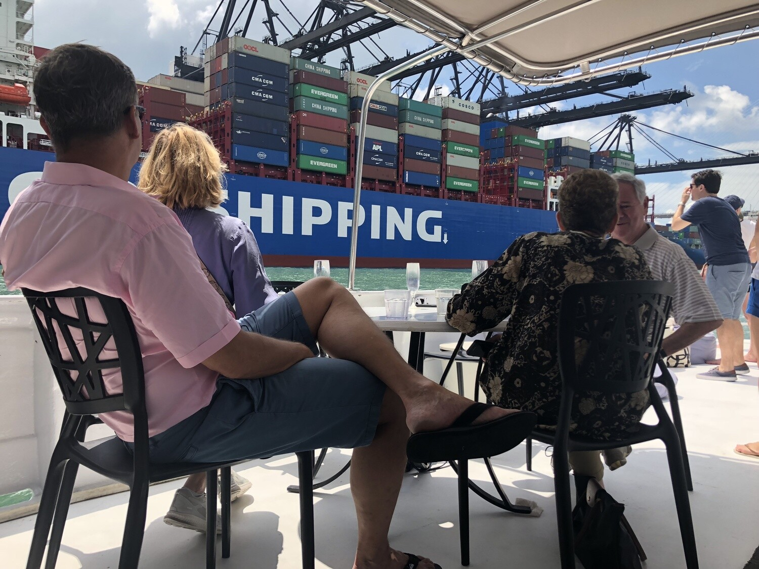 Container Port Tour + BBQ & Free Flow Drinks: Adult tickets
