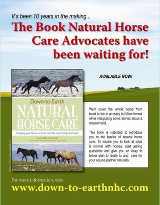 Down-To-Earth Natural Horse Care Book-Hard Copy