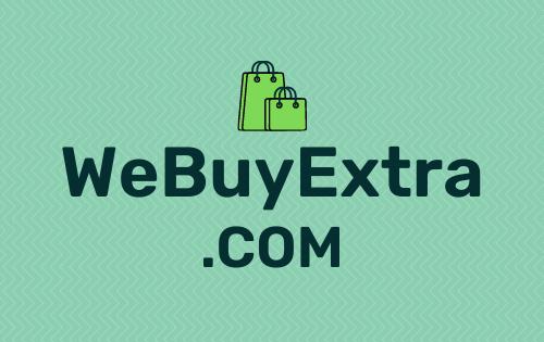 WeBuyExtra .com is for sale