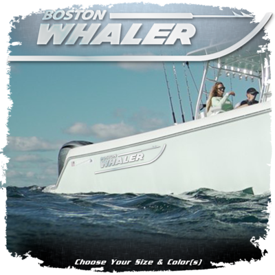 Domed Boston Whaler Decal 29
