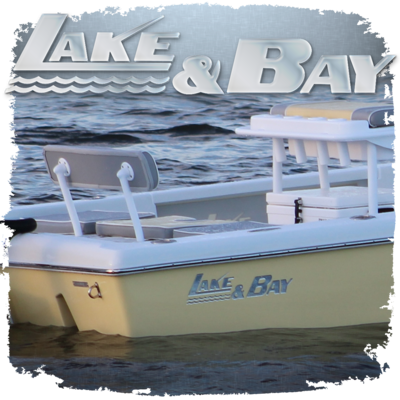 Domed Lake & Bay Decals, Choose your size and color(s)