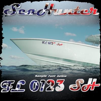 Sea Hunter USA Registration (2 included)