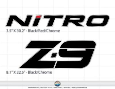 Nitro Z9 decal set