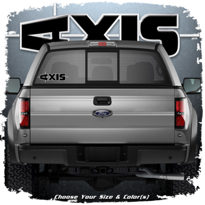AXIS Truck Decal