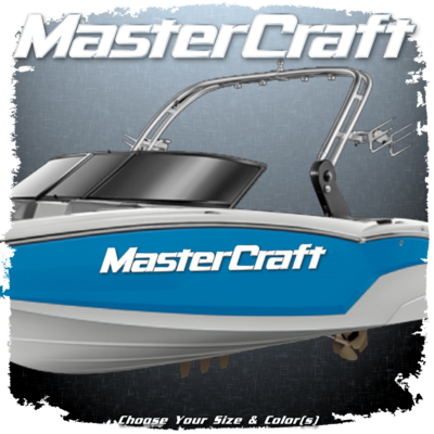 MasterCraft Domed Decal, 2014 - current, Choose Your Size and Color (1 Decal Included)