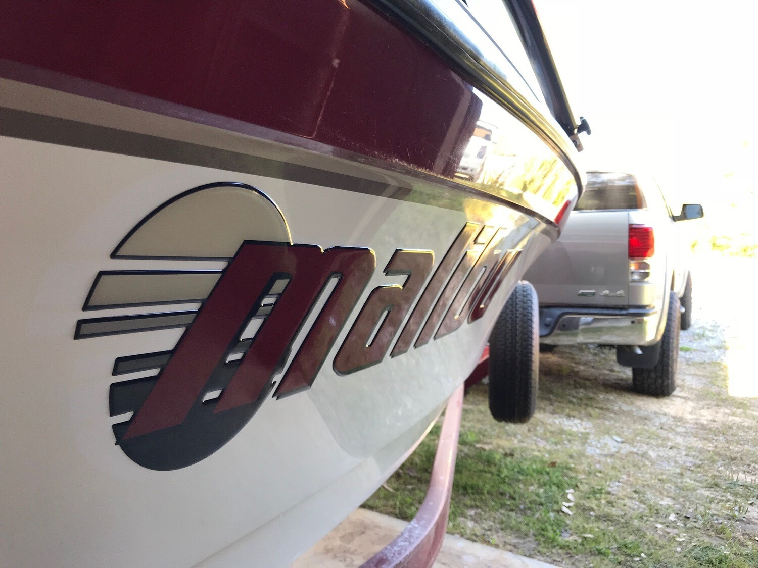 Malibu Sunsetter Decal Set - Choose Your Own Colors! (2 included)