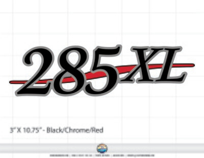 Stratos 285XL domed decal