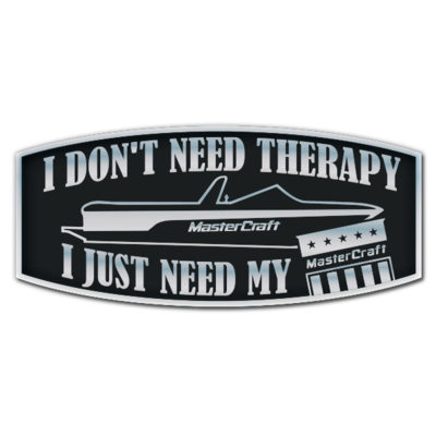 MasterCraft Therapy Domed Decal