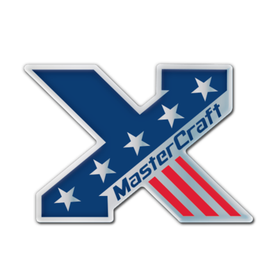 MasterCraft X USA Domed Decal