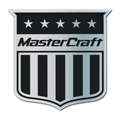 MasterCraft Shield Domed Decal, Choose Your Color