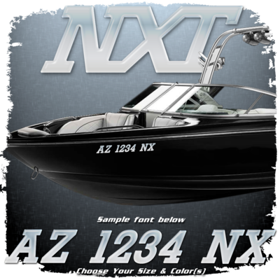 MasterCraft NXT Domed Registration, Factory Matched Chrome (2 included)
