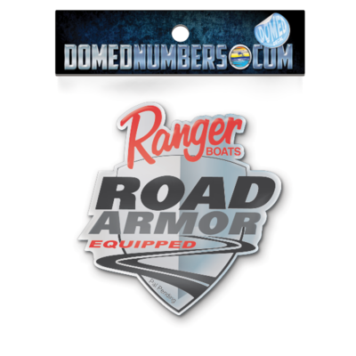 Ranger Boats Road Armor Domed Decal