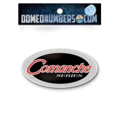 Ranger Boats Comanche Oval Domed Decal Set
