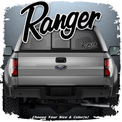 Ranger Boats Truck Window Domed Decal, Choose Your Color!