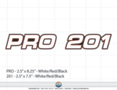 STRATOS PRO 201 (1 Decal Included)