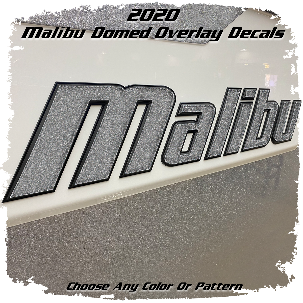Domed Malibu Wakesetter Overlay 2020, Choose Your Color