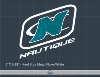 NAUTIQUE TRUCK WINDOW DECAL