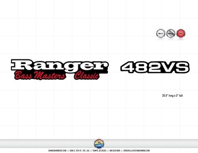 Ranger 482VS Bass Masters Classic (2 included)