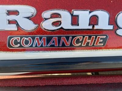 Ranger Comanche tag (1 decal)