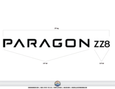 Paragon ZZ8 Ultra Charcoal (2 included)