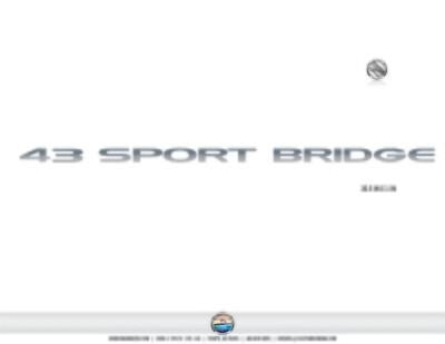 Silverton 43 Sport Bridge (1 decal)