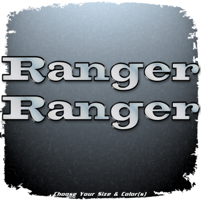 Ranger Bay Series Decal Set (2 included)