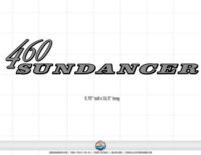Sea Ray Sundancer 460 (1 decal)