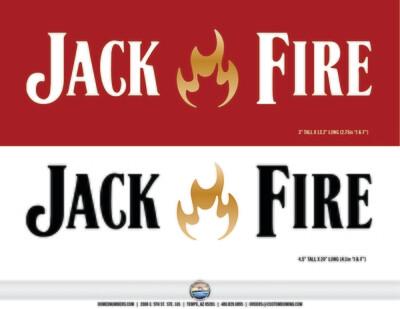 Jack Fire (1) White, (2) Black  (3 total)