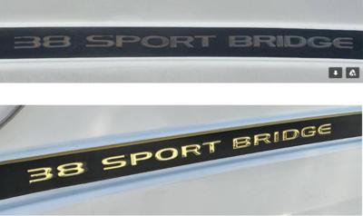 Silverton 38 Sport Bridge (1 decal)