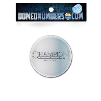 Champion Boats Steering Wheel decal