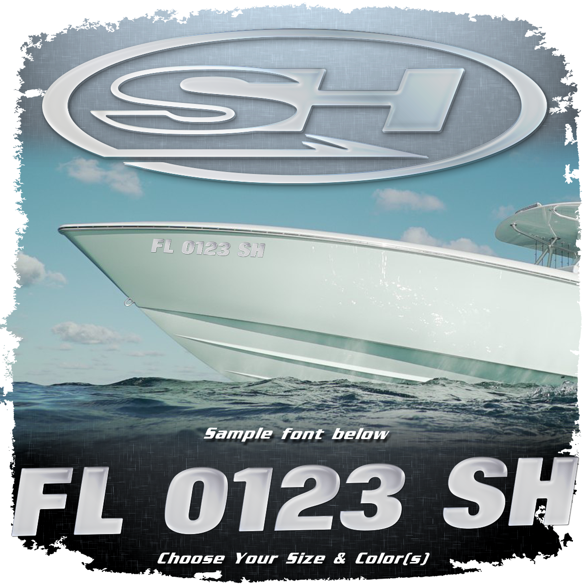 Sea Hunt Registration (2 included), Choose Your Own Colors