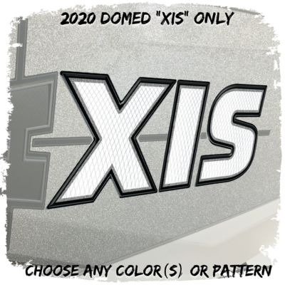 Domed Axis Hull Decal, 2020 - 2021, Factory Match or Choose Your Own Colors (1 Decal Included)