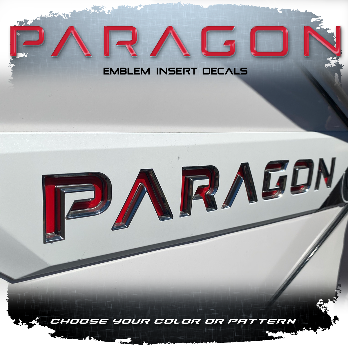 Nautique Paragon Domed Decal Insert Set (2 included)