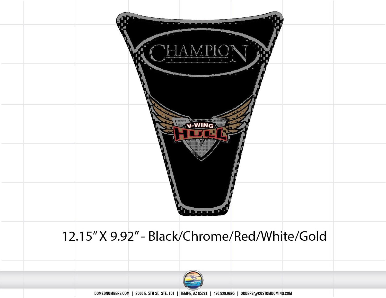 CHAMPION 2008 210 ELITE V Wing (2 included)