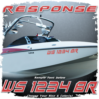 Malibu Response Registration, 2015-19, Choose Your Own Colors (2 included)
