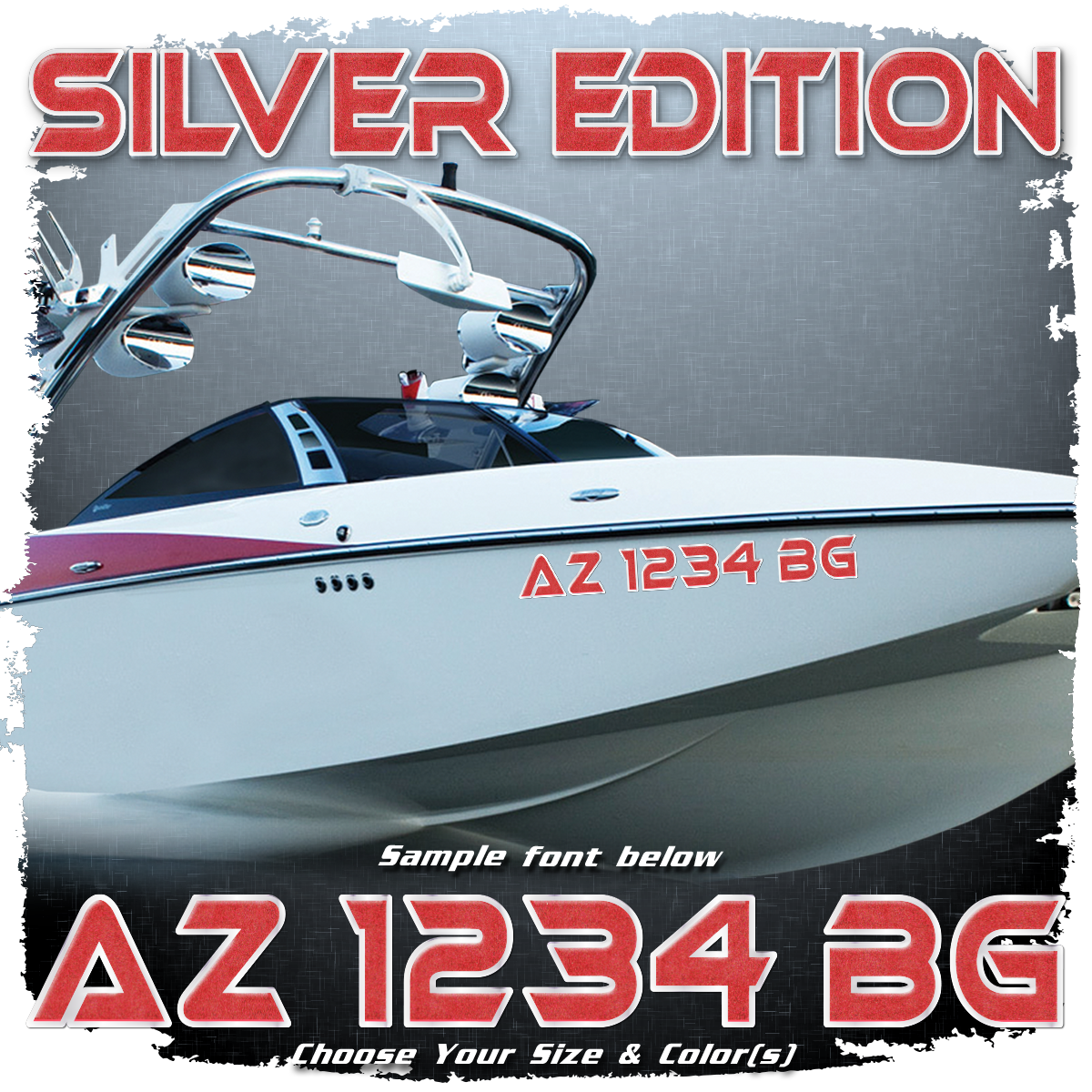 Malibu Silver Edition Registration, 2007-08, Choose Your Own Colors (2 included)