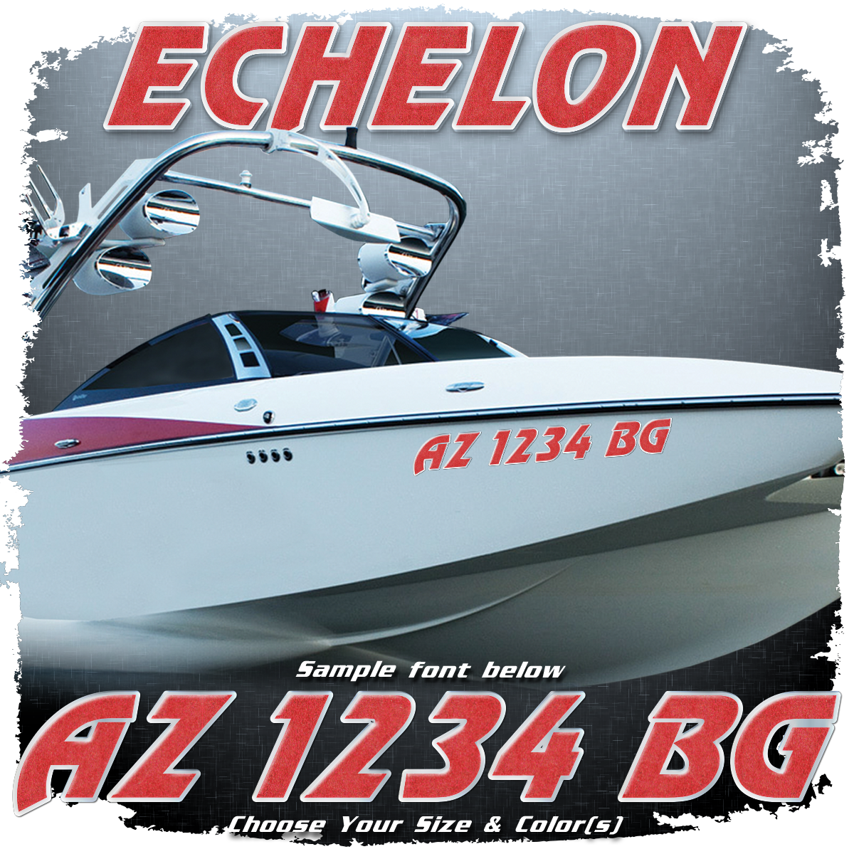 Malibu Echelon Registration, 1994-95, Choose Your Own Colors (2 included)