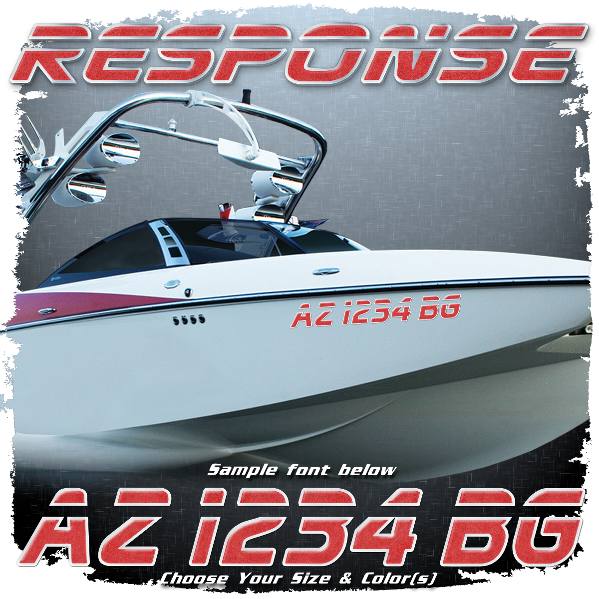 Malibu Response Registration, 2000-05, 07 Choose Your Own Colors  (2 included)