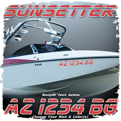 Malibu Sunsetter Registration, 2000-05 Choose Your Own Colors (2 included)