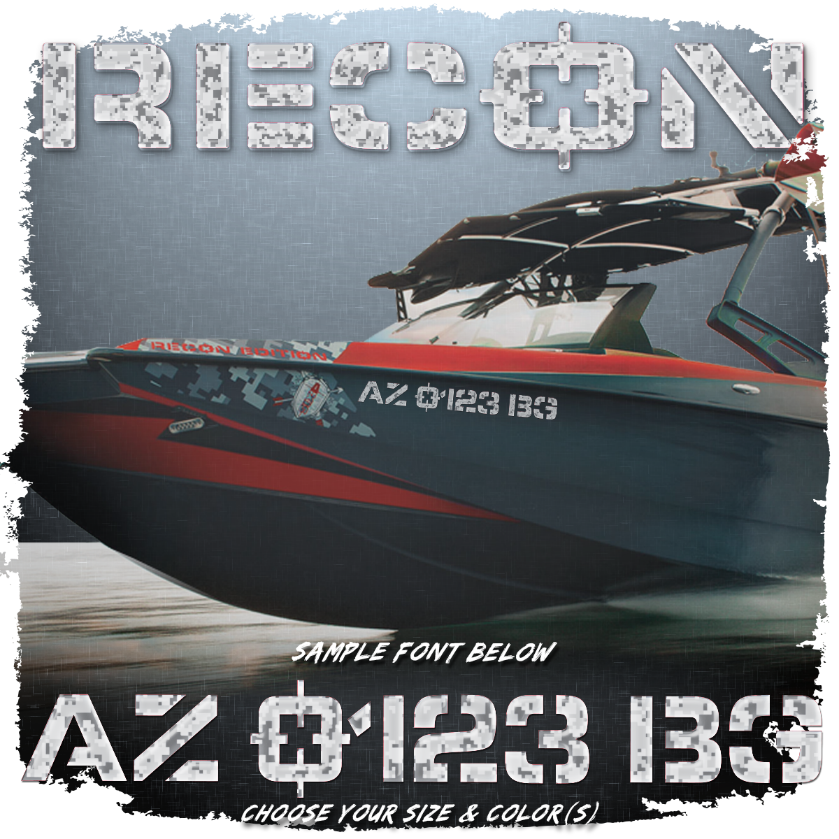 Axis Recon Registration, 2013, Factory Matched Camo (2 included)