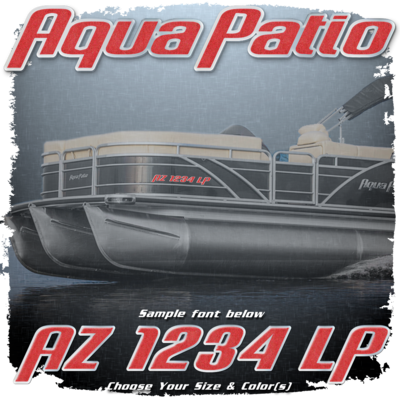 Aqua Patio Registration (2 included), Choose Your Own Colors
