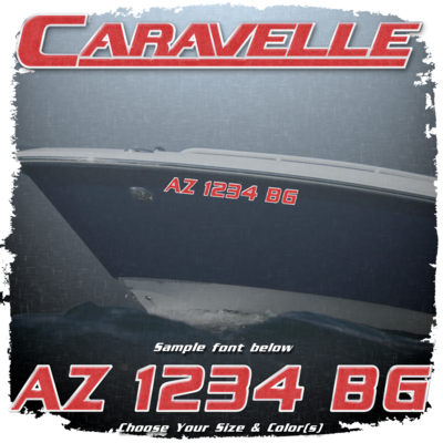 Caravelle Registration (2 included), Choose Your Own Colors