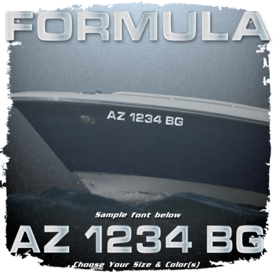 Formula Registration (2 included), Choose Your Own Colors