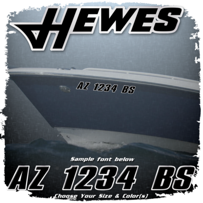 Hewes Registration (2 included), Choose Your Own Colors