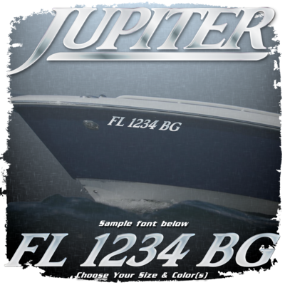Jupiter Registration (2 included), Choose Your Own Colors